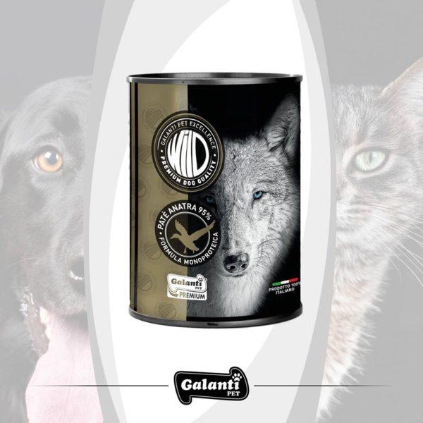 "Wild Dog Anatra (95%) 400gr ""premium"" monoproteico"